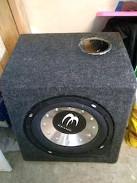 black and gray subwoofer speaker Gilroy, 95020