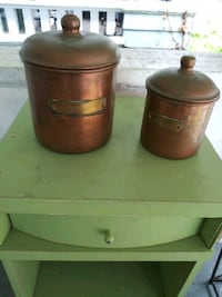 Copper Flour and Coffee Cannisters Norfolk, 23508