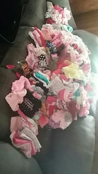 I have 2 garbage bags full of baby girl clothes ranging from sizes 0-3 and 3-6 Bay Minette