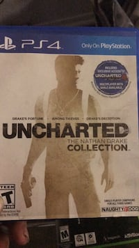 Uncharted The Nathan Drake Collection PS4 game case Corona, 92879
