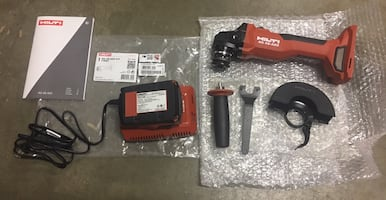 "New Hilti Cordless 5"" Grinder Kit or Bare Tool Either one"