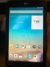 LG G Pad screen is messed up but works perfectly Bakersfield, 93307