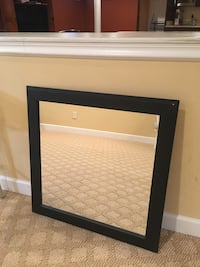 Wooden framed mirror  Woodbridge, 22192