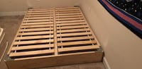 Wooden full bed base Decatur, 30033