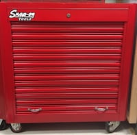 Vintage Snap-on toolbox chest, mind condition. Rare Longueuil, J3Z 1K1