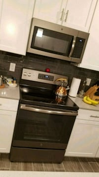 Ge stove and microwave  802 mi