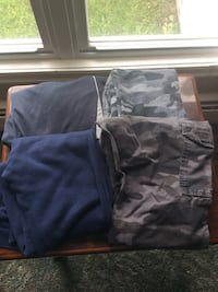 4 assorted pull on pants boys med