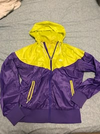 purple and yellow zip-up hoodie Edmonton, T6K 2B6