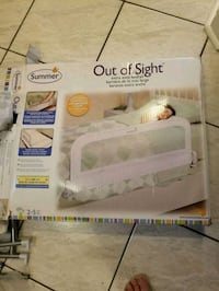 **Brand new Summer Infant Out of Sight Bedrail    Brampton, L6R 1L5