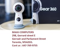 Samsung Gear 360 ; capture 4K videos and high quality pictures with 360 deg  Toronto