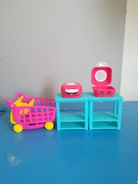Shopkins cart and 2 waffle makers New Tecumseth, L9R 1E3