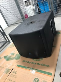 NX200 power subwoofer