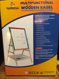 Foldable double side Easel with magnetic boards Sterling, 20166