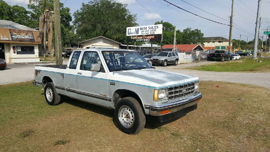 used 1987 chevrolet s 10 4x4 in riverview