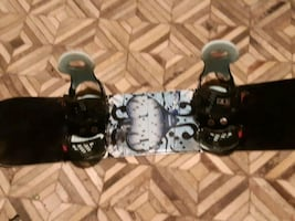 Snowboard with bindings great condition