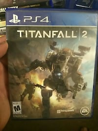 Titanfall 2 PS4 game case
