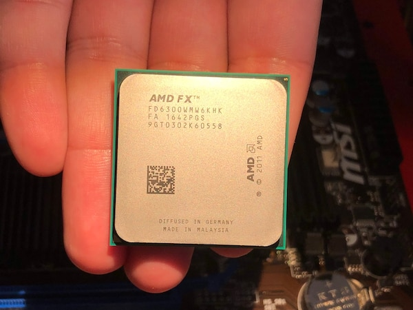 AMD FX-6300 6-core / with stock Cooler