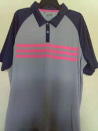 New men's Adidas climacool Polo golf shirt for $10