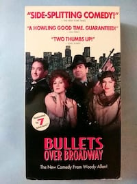 Bullets over Broadway vhs Baltimore