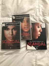 Scandal seasons 1-3