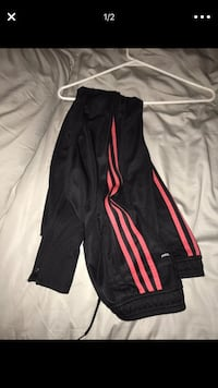 BLACK & RED ADIDAS SOCCER PANTS  Montgomery Village, 20886