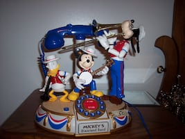 Mickey Mouse Dixieland Band telephone.