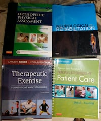 Physiotherapy books take all for $50 Mississauga, L5M 7L9