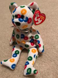 Ty Beanie Baby M&M's Collection Mint with Tag Retired 2008 Wichita, 67216