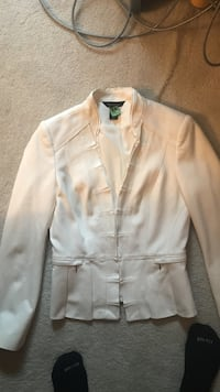 white button-up long-sleeved shirt Helena, 56071