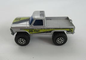 Matchbox, Big Foot, Mini Pickup Truck, Vintage, 1981 1:67, Lesney England