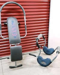 gray and black exercise equipment Bladensburg, 20710