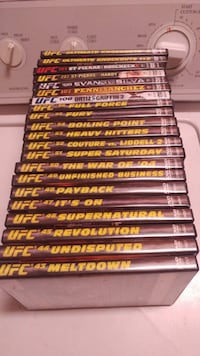 21 UFC DVD's $4 each (buy 3 for $10) Kamloops