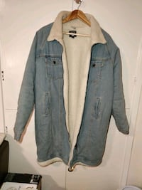 Long denim winter jacket new Greater London, SE1 3EF
