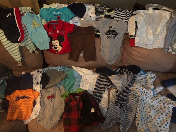 Baby boy clothes nb-0-3 months 3
