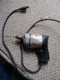 black and gray corded power drill Owosso, 48867