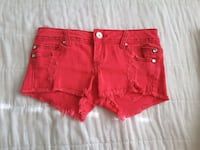Almost Famous pink distressed shorts Lancaster, 93536