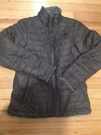 Like New North Face Reversible Girls Coat sz 14/16 Washington