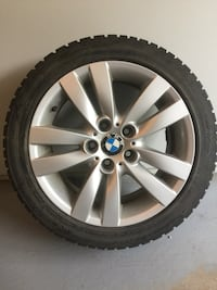 Bmw 3 series winter rims and tires 225 45 r17 Oakville, L6L 1A4