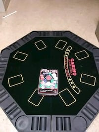 Poker table top and chips New Iberia, 70560