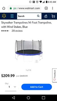 14ft Trampoline- make me an offer Cape Coral, 33914