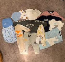 NB-3 mo baby boy clothing lot