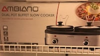 black and gray Bella slow cooker box Woodbridge, 22193