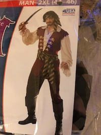 Pirate Costume 2378 mi
