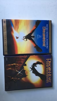 Dragonheart DVD set / Dragon Heart Dvd set Omaha, 68104