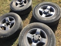 01 to 04 Nissan Xterra wheels