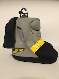 Batman Boot Style Slippers (NEW WITH TAGS) Pine River, 56474