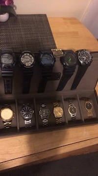 assorted round analog watch lot Manchester, 03102