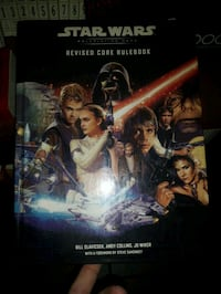 Star Wars roll playing game Core book Edmonton, T5X 1M6