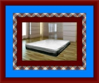 Singlesided pillowtop mattress with boxspring Parkville