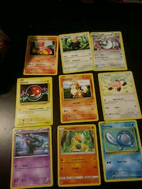 nine Pokemon trading card collection Earlville, 60518